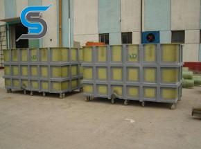 热板材质处理槽喷淋室